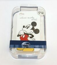 For iPHONE 4 4S - NEW DISNEY MICKEY MOUSE HARD PROTECTOR SKIN CASE COVER CLASSIC
