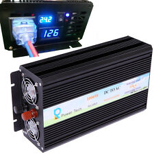 Power Inverter 24V to 120V Pure Sine Wave Inverter 1000W Off Grid LED Display