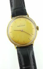 Vintage 18k Gold Jaeger Lecoultre 2285 Cal k800/c 34mm Watch