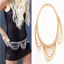 Boho Ethnic Gold Belly Waist Chain Shimmy Leaf Metal Belt Hippy Turkish Jewelry