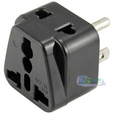 Universal Worldwide UK AU to US Charger AC Power Plug Travel Adapter Conventer