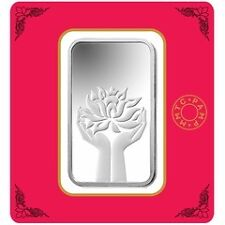 100GMS 999 SILVER MMTC PAMP SILVER  COIN- CERTICARD - DIWALI