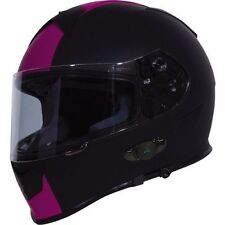 TORC Mako T14B Bluetooth Full Face Motorcycle Dual Visor Helmet - DOT ECE