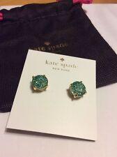 $28 Authentic Kate Spade Gum Drop Stud Earrings in Grace Blue