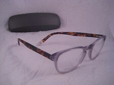 GANT RUGGER Rx Eyeglass Frames Oval Plastic Light Blue Tortoise Shell GR IVAN BL