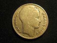 FRANCE , 10 FRANCS DE 1931 , PLATA