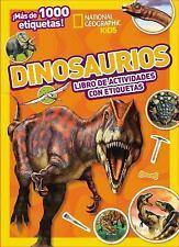 Dinosaurios : Libro de Actividades con Etiquetas by Grupo Nelson and Thomas...