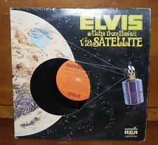 ELVIS PRESLEY'S Aloha from Hawaii Via Satellite 2 Record Album RCA Records