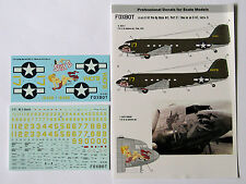 Foxbot - 72-021 - C-47 Pin-Up Nose Art and stencils, Part V - 1:72   *** NEW ***