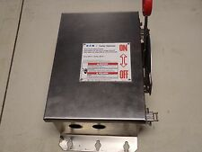 Eaton Cutler Hammer DH361UWK 30 Amp 600 VAC 250 VDC Safety Switch Disconnect