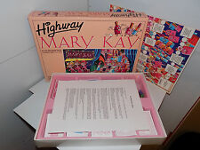Mary Kay Cosmetics Highway Board Game Rare Collectible 1994