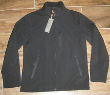 New TUMI Black 4T-2011SS T-Tech Zip Coat Jacket + Hood SMALL S SM NWT $235 BLACK