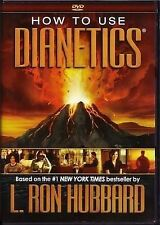How to Use Dianetics  DVD, L.Ron Hubbard  2 DVD's, 4 hours 23 mins