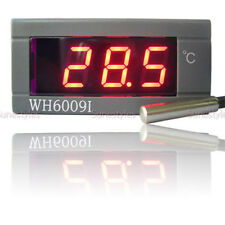 New Digital Thermometer Temperature Meter Gauge With Probe AC 220V 0C 300C NT220