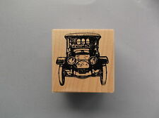 100 PROOF PRESS RUBBER STAMPS FRONT OF OLD CAR NEW STAMP