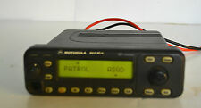 MOTOROLA MCS2000 15W Model II 800 Mhz,,  Flashport Radio   M01UGM6PW6AN