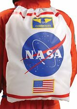 cdfvre4KIDS NASA SPACE ASTRONAUT BACKPACK BAG TOTE COSTUME ACCESSORY ARDSAW
