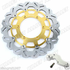 320mm Rotor For Suzuki RM125 250 DRZ 400 S E Oversize Front Brake Disc + Bracket