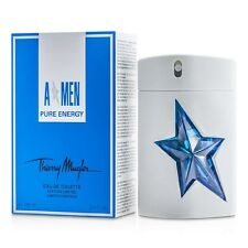 AMEN A*MEN PURE ENERGY By Thierry Mugler men 3.4 oz 3.3 edt New in Box