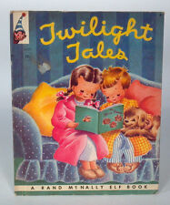 PC Vintage Book Rand McNally Elf Twilight Tales Miriam Clark Potter- Nice!