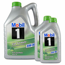 Mobil 1 ESP Formula 5W-30 Fully Synthetic Engine Oil Mobil1 5L + 2x1L 7 Litres