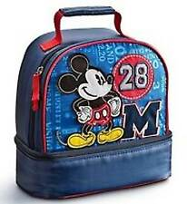 Disney Store Authentic Mickey Mouse School Lunch Bag Tote Box