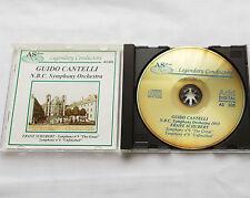 Guido CANTELLI-N.B.C. S.O.1953 / SCHUBERT Symphony 8 & 9 ITALY CD AS Disc (1989)