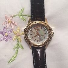 INVICTA  LADIES WILDFLOWER CRYSTAL HEART WATCH 0689 - SHIP PRIORITY MAIL US ONLY
