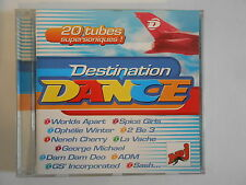 DESTINATION DANCE de NRJ : GEORGE MICHAEL, 2 BE 3, SASH.. ||  CD ALBUM | PORT 0€