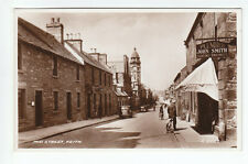 Mid Street Keith Banffshire John Smith Plumber 1939 Real Photograph Mitchell