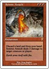 SEISMIC ASSAULT Seventh Edition MTG Red Enchantment RARE