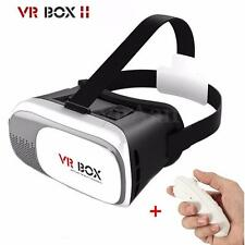 "REALIDAD VIRTUAL Gafas 3D VR BOX 2.0  Video Para iPhone 3,5"" - 6,0"" Smartphone"