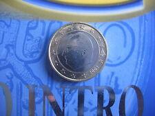 Belgien 1 Euro 2001 BU Kursmünze aus dem INTRO SET