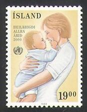 Iceland 1988 UN/WHO/Health/Medical/Welfare/Mother/Baby 1v (n34705)