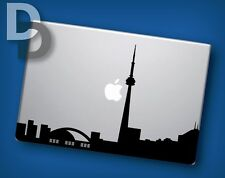 Toronto silhouette Macbook decal / Laptop sticker / City decal