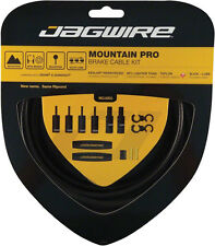 JAGWIRE MOUNTAIN PRO BLACK CARBON MTB BICYCLE BRAKE CABLE KIT