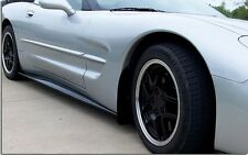 C5 Corvette ZR1 Style Pre-Painted or Carbon Fiber Finish Side Skirts