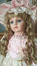 "WORLD GALLERY PATRICIA LOVELESS DOLL TATIANNA 27"" COA  #926 FRENCH BRU JNE 14 FR"