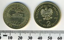 Poland 2009 - 2 Zlote Collectible Coin - Supreme Chamber of Control, 90th Ann.