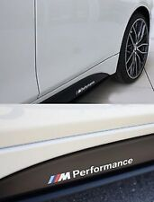 2X BMW M Performance M Sport Side Skirt Decal Sticker Vinyl | Premium Item HQ+