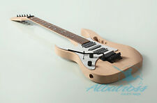DIY Mahogany Vine Inlay Bolt On Left Handed Electric Guitar Kit Project G830L