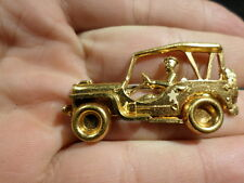 WWII Homefront Sweetheart Pin US Army Jeep