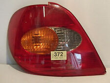 TOYOTA AVENSIS 98-01 REAR LIGHT CLUSTER NEAR SIDE WITH BULB HOLDER  TOY 372  L