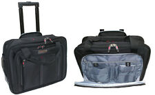 "17"" Aerolite Roller Case Business Cabin-Sized Laptop Rolling Carry-On Trolley"