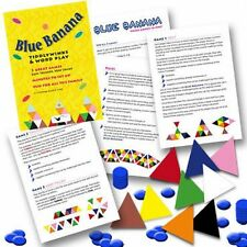 Blue Banana Tiddlywinks and Word Play Games Pack  (Children's Parties)