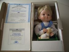 The Ashton Drake Galleries Porcelain Doll A Friend in Need is a Friend Indeed