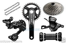 New 2016 Shimano Deore XT M8000 11-speed Groupset Drivetrain Group set 170mm