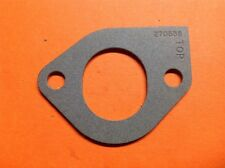 (1) BRIGGS & STRATTON OEM Carburetor Intake Gasket Part # 270538 Fast Free Ship