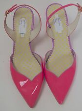 NEW BODEN PINK MILLIE SLING BACK SHOES – UK SIZE 6 – EU 39