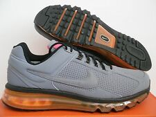 MENS NIKE AIR MAX 2013 EXT GREY-ORANGE-PINK SZ 10 [599455-008]